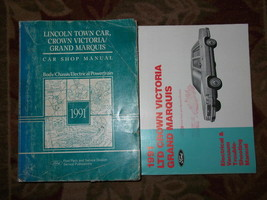 1991 FORD CROWN VICTORIA & MERCURY GRAND MARQUIS Service Repair Manual S... - $71.39
