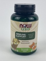Now Foods IMMUNE SUPPORT for Dogs & Cats, 90 Chewable Tablets - $18.80