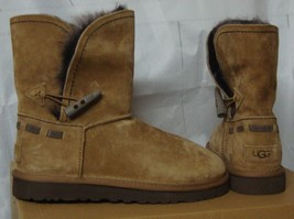 UGG MEADOW Convertible Suede TOSCANA Cuff Boots Size US 8, EU 39 NEW  #1... - $92.20