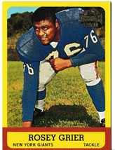 2001 Topps Archives Rosey Grier #168 Football Trading Card New York Giants - $1.97