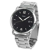 New! Fossil Mens Analogue Watch with Stainless Steel Strap FS5391 RRP £115 - $79.60