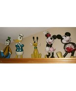 """SET OF THE FAB FIVE Disney Big Figs 12""""  Resin Statues RARE Vintage - $742.50"""