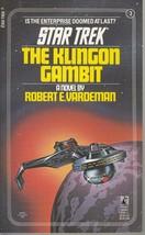 The Klingon Gambit - Star Trek #3 - Robert E. Vardeman - PB - 1981 - Poc... - $2.93