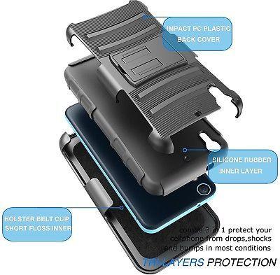 HTC Desire 626 Case, Desire 626S Case, Tekcoo [Hoplite Series] [Black] Shock /