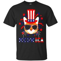 Meowica America Bengal - Cat 4th Of July T-Shirt - ₹1,574.70 INR+