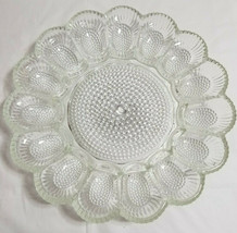 Large Egg Tray Containers Carriers Easter Deviled Crystal Clear Art Glas... - $39.99