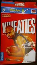HG Wheaties Box Minnesota Vikings Adrian Peterson 15.6oz - $12.99