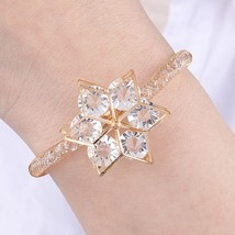 2019 New Crystal Charm Bracelets & Bangles For Women Geometirc  Flower E... - $19.17
