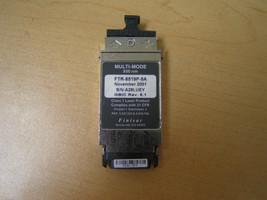 FINISAR FTR-8519P-5A 1GB 850NM SHORT WAVELENGHT (SW) FIBER OPTIC GBIC TRANSCIEVE