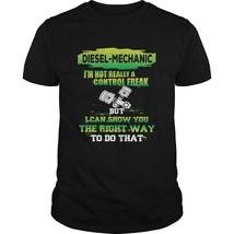 Diesel Mechanic Gift I'm Not Really A Control Freak Men's T-shirts - $19.99+