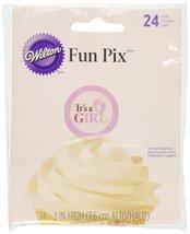 Wilton Shower Cupcake Picks, Baby, Girl, 24-Pack, Multicolored - $5.40