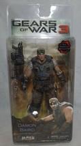 Gears of War 3 Player Select Damon Baird Figure w/retro lancer NEW sealed  - $56.09