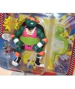 ✰ TMNT ✰ SHELL SLAMMIN' MIKE ✰ figure MOC c8.5++- UnPunched RARE PINK VE... - $69.99