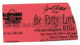 RARE Patty Larkin Band 9/30/95 Madison WI Barrymore Thtr Concert Ticket ... - $2.96