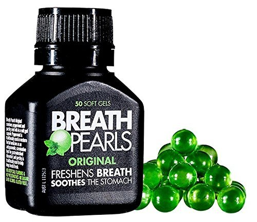 Breath Pearls Original Freshens Breath 50 softgels
