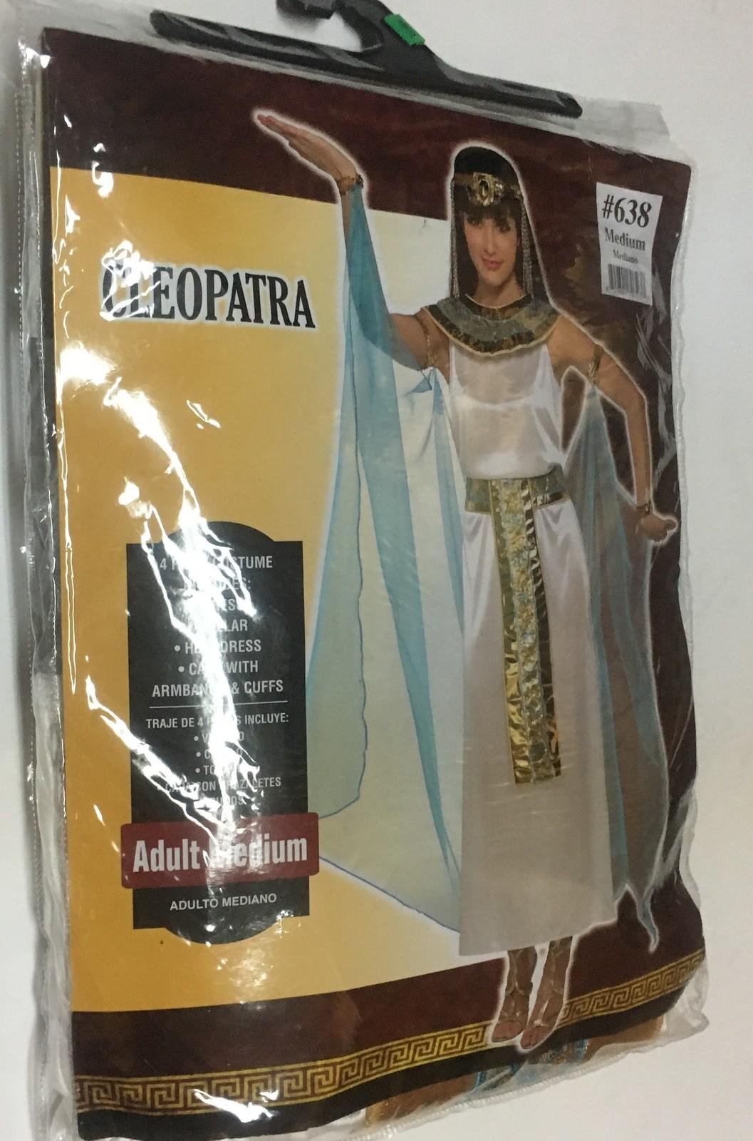Cleopatra 4 Piece Costume Adult Medium (6-8)