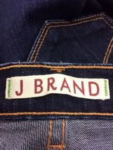 Anthropologie Women's J BRAND Jeans Dark Wash Boot Stretch Mint Long Size 25 image 6