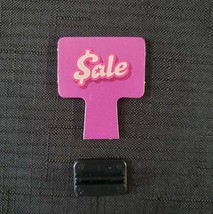 Mall Madness 2004 Replacement Part / Piece Sale Sign W/ Stand For Board Game - $1.00