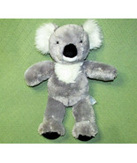 "17"" BUILD A BEAR KUDDLY KOALA BEAR STUFFED ANIMAL GREY WHITE PLUSH DOLL ... - $13.66"