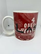 STARBUCKS COFFEE Cup Las Vegas City Mug 2002 Skyline Series Sin City - $19.79