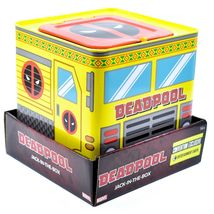 Entertainment Earth SDCC 2019 Exclusive Deadpool Retro Style Jack-in-the-Box image 6