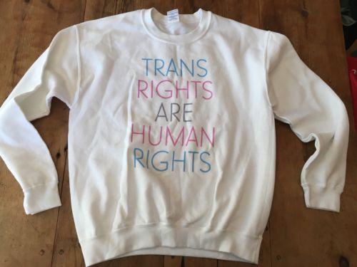 Trans Rights Are Human Rights Sweatshirt LBGTQ