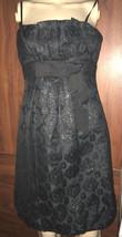 BCBG MaxAzria Womens Black Strapless Coctail Dress Size 0 - $23.36