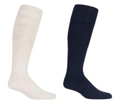 Mens Thick Over the Calf Heavy Knit Warm Wool Angling Hiking Hunting Boot Socks - $9.99