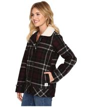 New Vans Womens Spirit Animal Double Breasted Wool Blend Casual Jacket XS $130 image 5