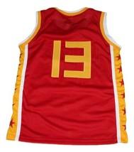 Yao Ming Team China Basketball Jersey Sewn Red Any Size image 2
