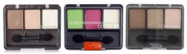 COVERGIRL* Eye Enhancers TRIO KIT Eyeshadow NEW STYLE Gray Case *YOU CHO... - $7.20