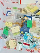 JEWELRY MAKING DIY BEAD BOARD, BEADS & BEADING MATERIAL See Photos (Bx7) image 3
