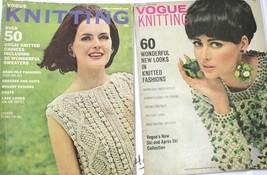 VTG Vogue Knitting Pattern Magazines 1965-1967  TWA featured Sweater Coats - $35.66