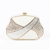 Judith Leiber Crystal Pearl Evening Clutch - $325.00