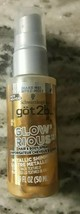 Schwarzkopf Got2b Glow'rious GOLD Metallic Shimmer Hair & Body Spray 1.6... - $7.33