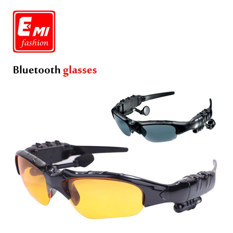 Bluetooth earphones polarized sun glasses wireless stereo sports phone Bluetooth - $49.99