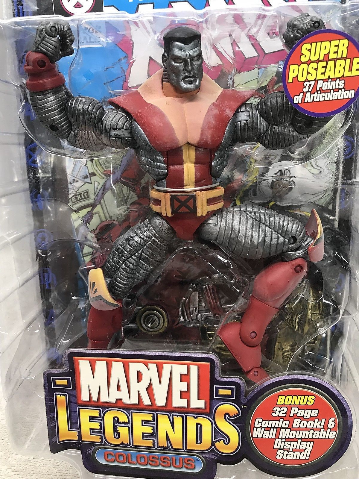 "Marvel Legends Colossus 7"" Action Figure Series V - ToyBiz 2003 FS"