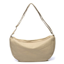 Fashion Solid Canvas Women Shoulder Bags Bags Lady Korean Design Famous ... - $25.98