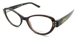 New Authentic Diesel Rx Eyeglasses Frames DL5011 048 51-17-135 Brown - $50.96