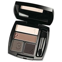 """Avon True Color Eyeshadow Quad """"Mocha Latte"""" - $6.15"""
