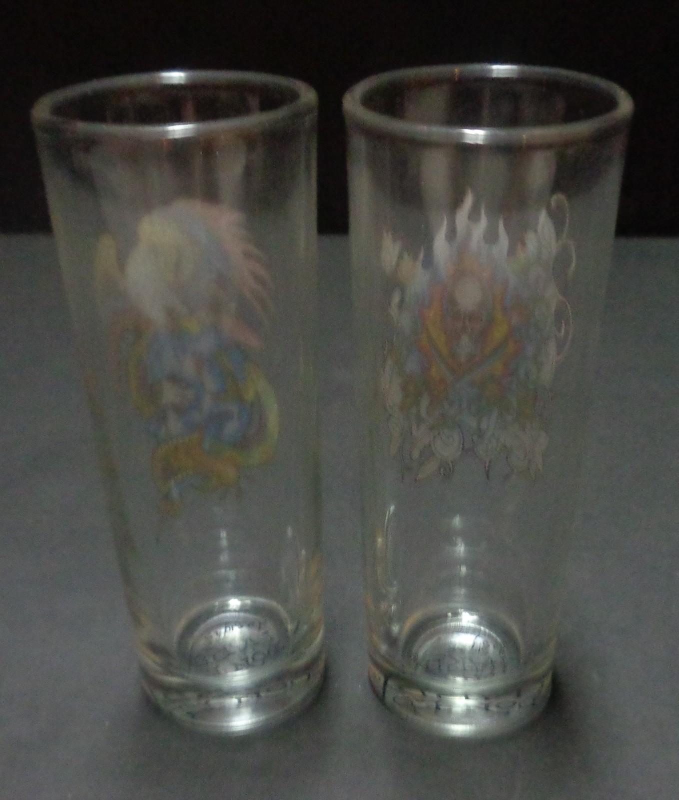 Don Ed Hardy Shot Glasses Set of 2