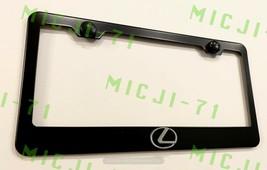 3D Lexus F Sport Emblem Stainless Steel License Plate Frame Rust Free - $18.50