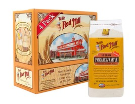 Bob's Red Mill 10 Grain Pancake and Waffle Whole Grain Mix, 26 Ounce (Pa... - $26.74
