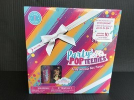 Party Pop Teenies Rainbow Unicorn Surprise Box Playset W/10 Gifts Inside NEW -AM - $6.50