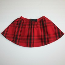 Crazy 8 Holiday Party and Holiday Pictures Bow Red Plaid Skirt 4 NWT - £7.64 GBP