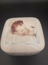 Lucie Attwell, Memories of Yesterday, Trinket Box, 1989 Enesco - $13.00