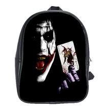 Backpack School Bag Joker With Card American Superheroes Batman Movie Animation  - $33.00