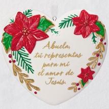 2018 Hallmark Abuela Spanish-Language Porcelain Ornament - $17.81