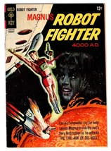 MAGNUS ROBOT FIGHTER #13 comic book 1966-GOLD KEY-RUSS MANNING ART-SCI-FI - $40.35