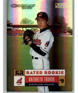 2005 Donruss Stat Line Season #34 Kazuhito Tadano 27/39 Cleveland Indians - $5.99
